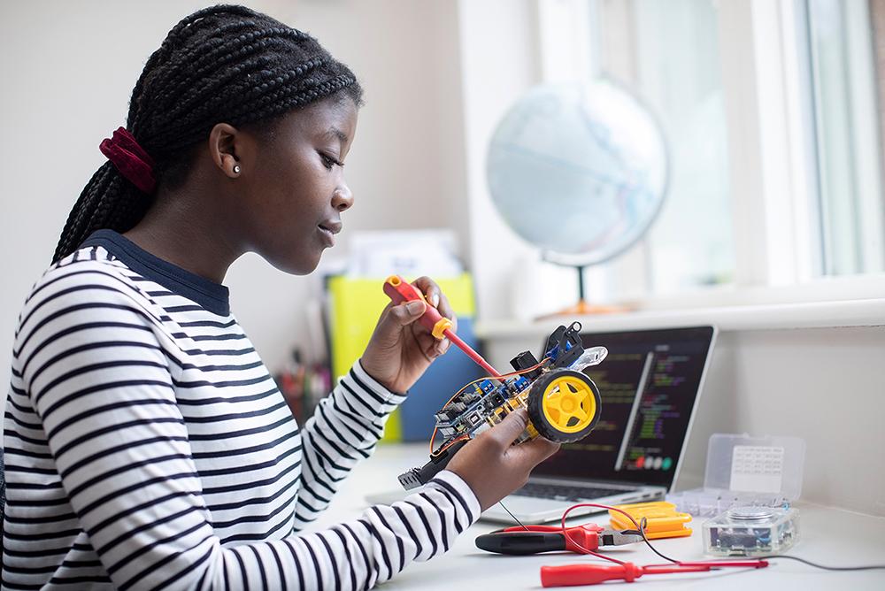 Learner coding and robotics